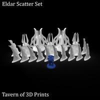 40k Eldar Terrain - Eldar Scatter Terrain