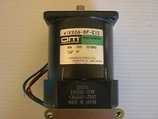 Oriential Motor 4IK60A-BF-E12 induction motor kit NEW no factory packaging