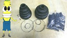 Outer & Inner CV Axle Boot Kit for Nissan D21 3.0L Pickup 1986-1989