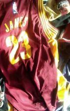 3 RARE LOT M Basketball LEBRON James #23 jersey NBA adidas LAKERS CAVALIERS HEAT