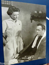 photo press original Humphrey Bogart, Gene Tierney, The Left Hand of God, 1955