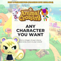 ANY VILLAGERS YOU WANT! Animal Crossing Amiibo Cards (NFC) [FAST SHIPPING]