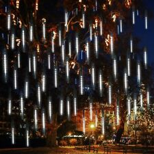 144 LED Solar Meteor Shower Lights Falling Raindrop Icicle/ 100 LED String Light