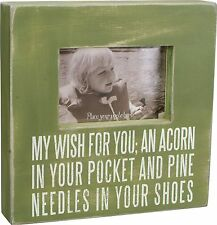 """Primitives by Kathy 10"""" Picture Box Frame """"MY WISH FOR YOU""""  #19256"""
