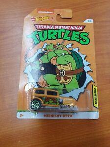 Teenage Mutant Ninja Turtles Hot Wheels Midnight Otto (Missing Parts) Rare Error