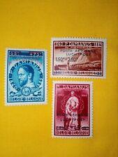 STAMPS - TIMBRE - POSTZEGELS BELGIE 1947 ZEGELS NR. PA15/17  * (ref. 204)