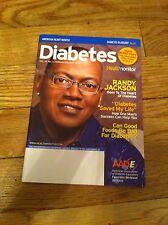 Diabetes Mini Magazine 2009 Randy Jackson American Idol Health Monitor AADE Rare
