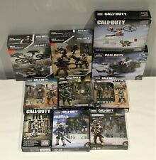 Mega Construx Call of Duty Lot of 10 Sets New *Sealed*