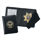 Strong Leather Company Side Open Badge Case 415 - 77500-4152 ID Holder