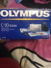Olympus CAMEDIA C-50 Zoom 5.0MP Digital Camera - Silver