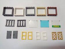 LEGO Vitre Glass pour Fenetre Windows 1x4x3 Roof (60594 60603) choose color