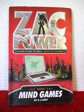 ZAC POWER #3 MIND GAMES 2006 paperback H.I. LARRY Australian chapter book