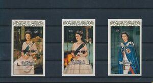 LO28510 Cook Islands overprint queen Elizabeth II royalty sheets MNH