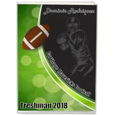 4X6 Personalized Football Player Photo Album- Choose background color & text!