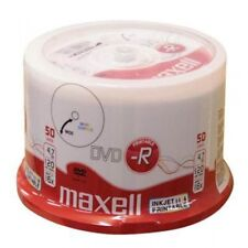 100 PK dvd-R 16x Blank Media 4.7gb Full Printable Maxell
