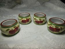 Home Interiors Apple Orchard Napkin Rings - 4