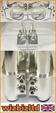 Manetas de freno de color principal plata para motos Ducati