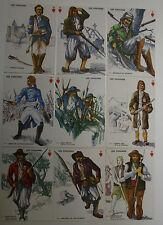 Série de 9 Cartes postales  LES CHOUANS