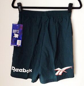 vintage reebok shorts youth kids boys size XL deadstock NWT 1993 shawn kemp NOS