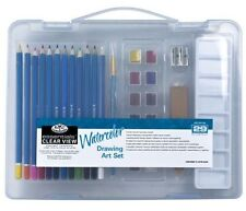 Royal & Langnickel Essentials Clear View Watercolor Drawing Paint Pencil Set 29