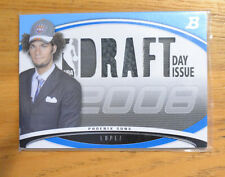 Robin Lopez 2008-09 Bowman Draft Picks Draft Day Issue Relic Card #D 2/50