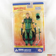 Smallville Green Arrow action figure Series 2 by DC Direct worn cracked corners