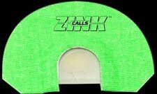 ZINK CALLS LIL GREEN MACHINE YOUTH DIAPHRAM TURKEY CALL THUNDER RIDGE SERIES