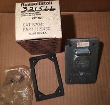 RUSSELLSTOLL 8704 EVERLOK RECEPTACLE 125VAC 20A NOS USA Midland Ross F12143C