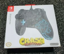 Crash Bandicoot Nintendo Switch Controller Wired Made By PowerA BRAND NEW
