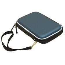 "Funda rígida con cremallera para disco duro portátil (2,5"")Azul L4I6"
