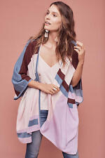 NWT $148.00 Anthropologie Geometric Poncho by Plenty By Tracy Reese M/L