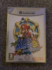 Super Mario Sunshine Nintendo Gamecube PAL Boxed With Instructions & Leaflets