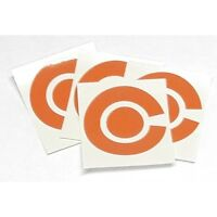 Crown Green Bowling Sports Coloured Stickers For Bowls Marker Labels Set Of 4