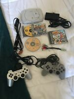 Used Ps1 Console Sony Playstation 1 Console With 3 Games Crash Bash , Toy Story