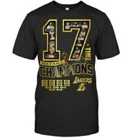 Los Angeles Lakers 2020 NBA Finals Champions Shirt Size S-5XL