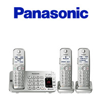 Panasonic KX-TGE473S Link2Cell Bluetooth® Cordless Phone with Large Keypad