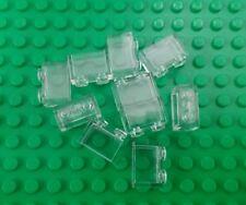 *NEW* Lego Clear 1x2 Stud Transluscent Window Bricks House Walls - 10 pieces