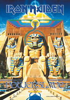 IRON MAIDEN FLAGGE FAHNE POWERSLAVE POSTERFLAGGE POSTER FLAG STOFF