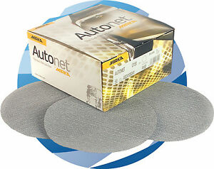 "Mirka Autonet 150mm (6"") P240 Grit 2 x Box 50 6"" Abrasive Sanding Discs"