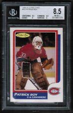1986 87 Opc O-Pee-Chee #53 Patrick roy Rc Rookie BGS 8.5 HOF Montreal Canadiens