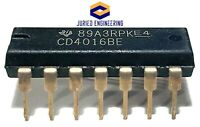 CD4016BE CD4016 100-pA, 20-V,1:1 (SPST) 4-Channel Analog Switch DIP-14 IC