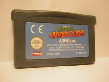 nintendo game boy advance SHREK SUPER SLAM  GBA jeu