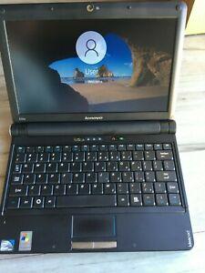 "Lenovo IdeaPad S10E Netbook Laptop 10.1"" N270 1.60GHz 2GB RAM 120GB SSD Win10"