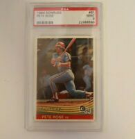 1984 Donruss Pete Rose #61 PSA 9 Mint Baseball Card