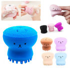 Silicone Sponge Facial Cleansing Brush Face Cleaning Massage Cleaner Exfoliate