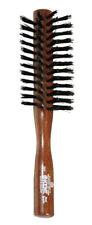 Kent Small DANTA WOOD Ladies Half RADIAL BRUSH Pure Black Bristle Hairbrush DA3