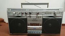Philips D 8514. Stereo radio cassette recorder. 1982.