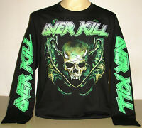 Overkill The Wings Of War Long Sleeve T-Shirt Size S M L XL 2XL 3XL Metal Band