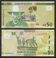 Namibia   50 Namibia Dollars   2012   Pick 13a   SC = UNC
