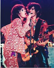 8 1/2 x 11 Glossy Photo Mick Jagger & Keith Richards Rolling Stones {212}